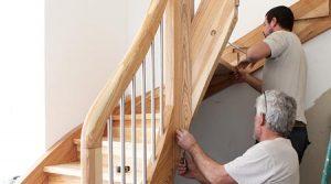 comment fixer un escalier