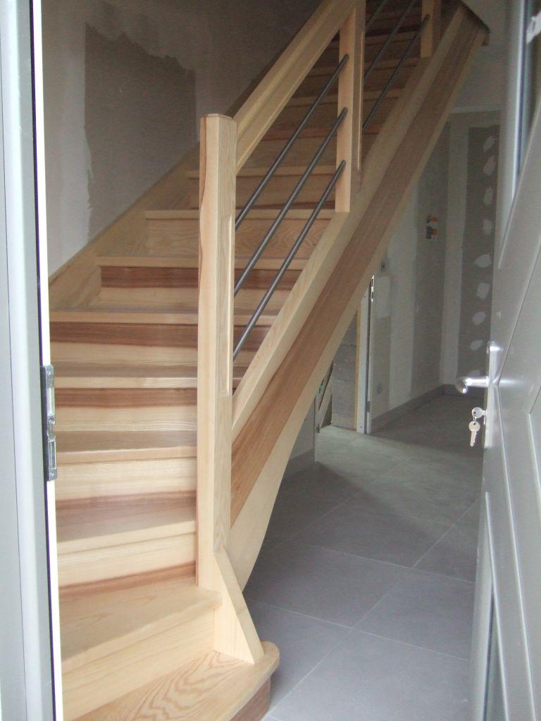 Escalier : hetre ou frene?
