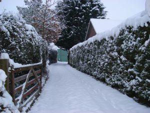 Neige et gel : nos conseils pour votre motorisation